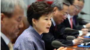 Park dijo que estos comportamientos no debían ser tolerados.
