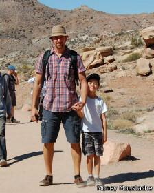 Pete puede disfrutar de la infancia de su hijo gracias a su temprana jubilación.