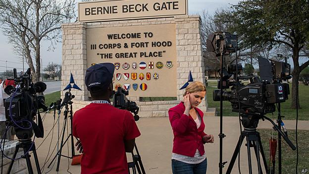 El tiroteo en Fort Hood fue la noticia más importante de la jornada en Estados Unidos.
