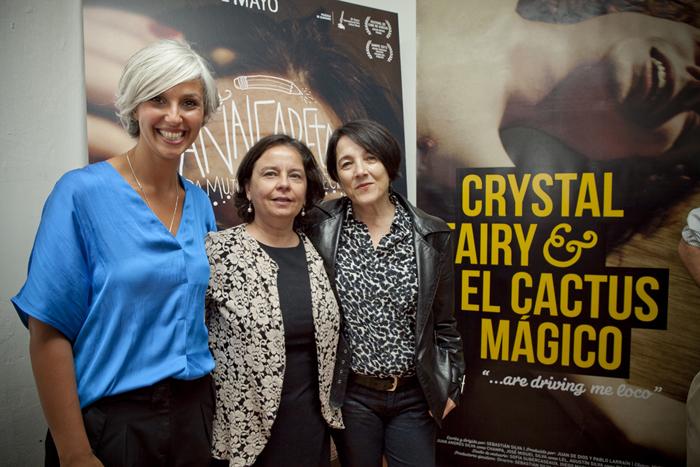 Constanza Arenas, Claudia y Paulina García Foto: Gentileza Cinemachile