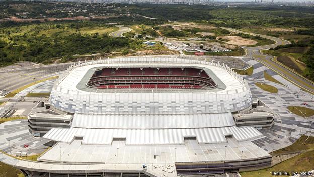 El Estadio Arena Pernambuco costó cerca de US$293 millones.