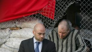 Varios observadores internacionales fueron secuestrados por separatistas prorrusos en Sloviansk.