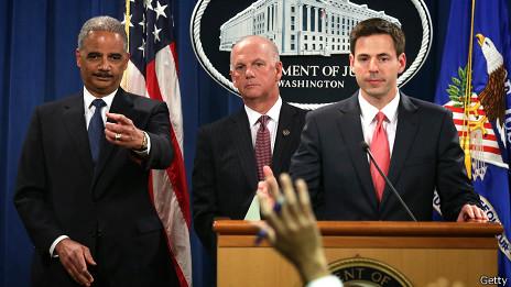 El Departamento de Estado de EE.UU. le puso rostros y nombres a los sospechosos del espionaje cibernético.