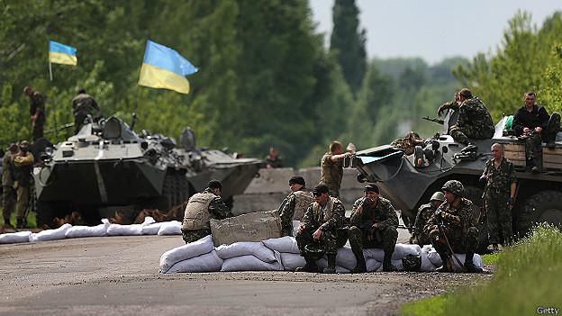 Este martes siete soldados ucranianos y un insurgente prorruso murieron en una emboscada.