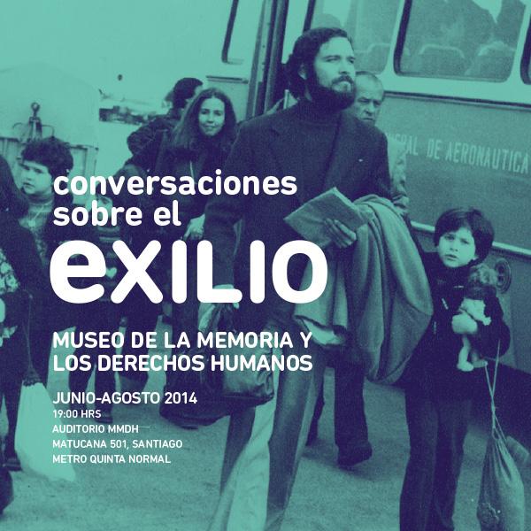 Museo de la memoria inicia conversaciones sobre el exilio
