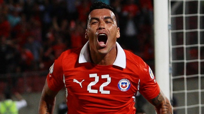 Esteban Paredes regresa a la 'Roja'