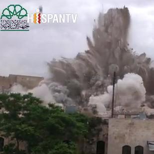 Video: rebeldes sirios afirman haber matado a 50 soldados en hotel Carlton en Alepo
