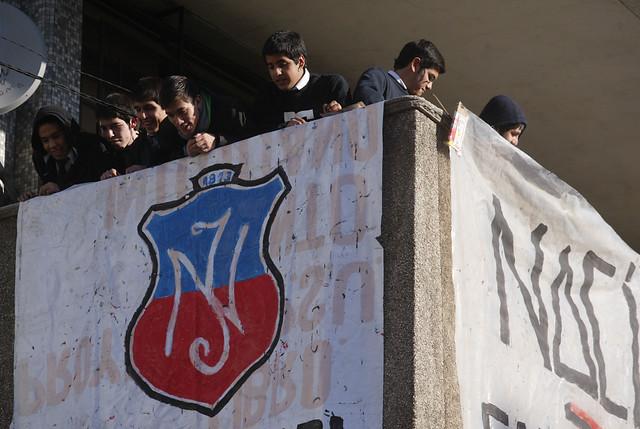 Alumnos del Instituto Nacional votan a favor de toma indefinida