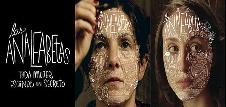 Afiches de la película Las Analfabetas