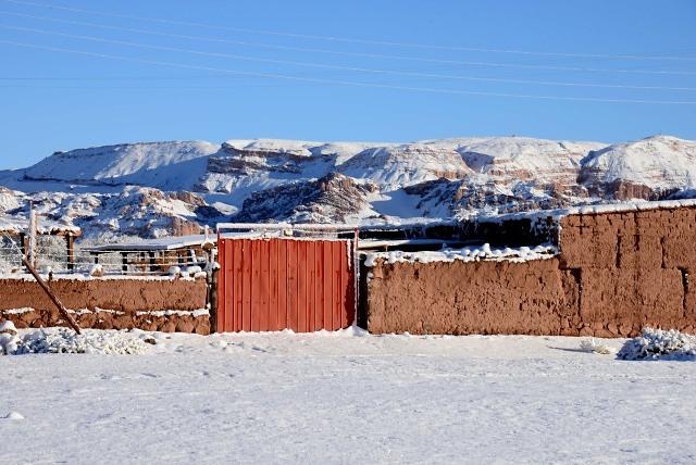 Temporal de lluvia y nieve afecta al desierto de Atacama