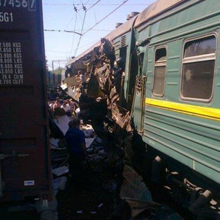 Al menos seis muertos en choque de trenes en la región de Moscú