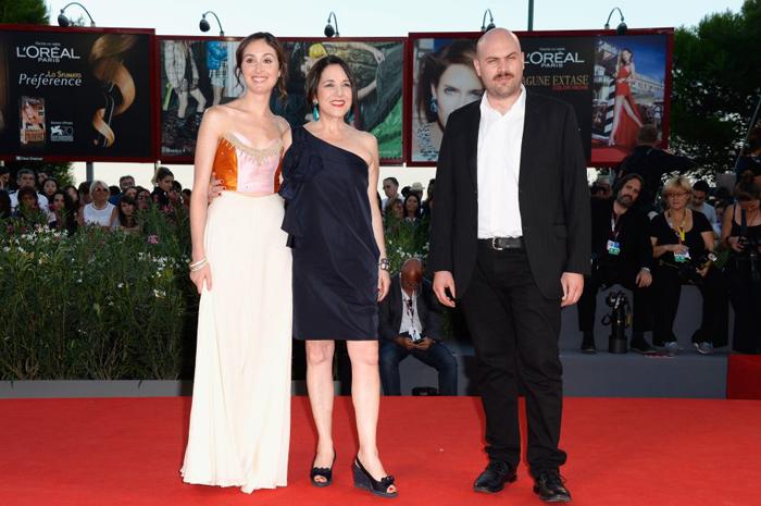 Valentina Muhr, Paulina García y el director Moisés Sepúlveda