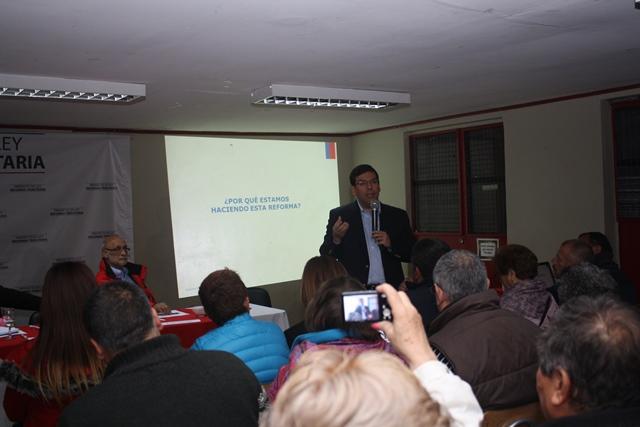 """Arenas: """"La reforma tributaria  es una responsabilidad con la ciudadanía y con las cuentas fiscales"""""""