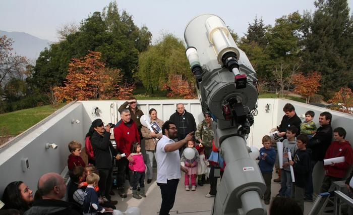 Observatorio Cerro Calán abre sus puertas en el Día del Patrimonio, 25 de mayo