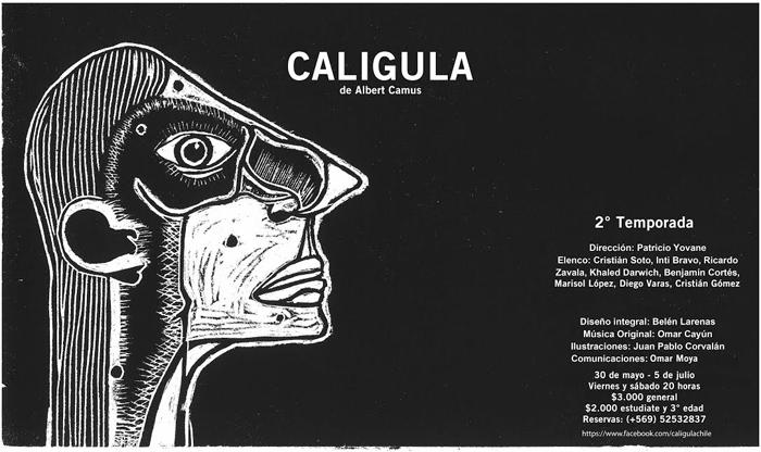 """""""Calígula"""" de Camus, una reflexión sobre el poder y las relaciones humanas"""