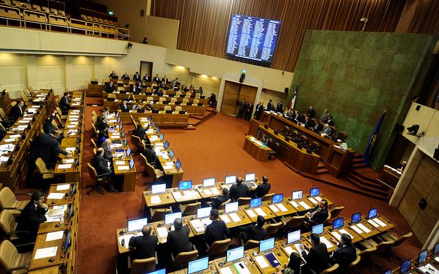 Sala de la Cámara de Diputados inició sesión para discutir y votar la Reforma Tributaria