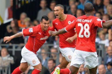 Cardiff de Gary Medel cayó ante Newcastle y desciende a la Championship League