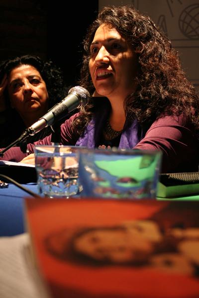 Maribel Mora Curriao Foto: Pablo Herrera Osorio