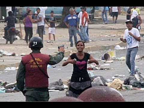 Human Rights Watch recopila cientos de testimonios de brutalidad policial en Venezuela incluyendo disparos contra manifestantes desarmados