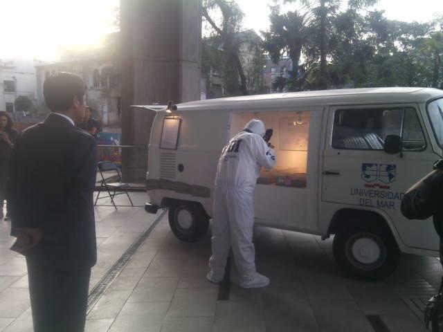 PDI incautó las cenizas de los pagarés que quemó el artista Papas Fritas