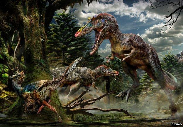 Pinocho rex, el nuevo tiranosaurio narigón