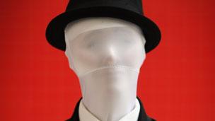 Cada representación de Slender Man tiene la característica del traje negro y la cara en blanco. Foto: Getty Images.