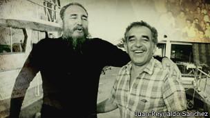 Según Sánchez, Castro llevó a muchos amigos a su isla privada, entre ellos el fallecido Nobel colombiano.