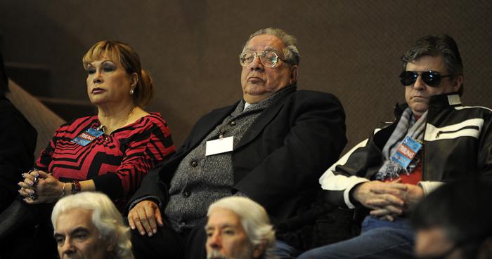 Palmenia Pizarro y Valentín Trujillo estuvieron presentes en la votación. foto Agencia Uno
