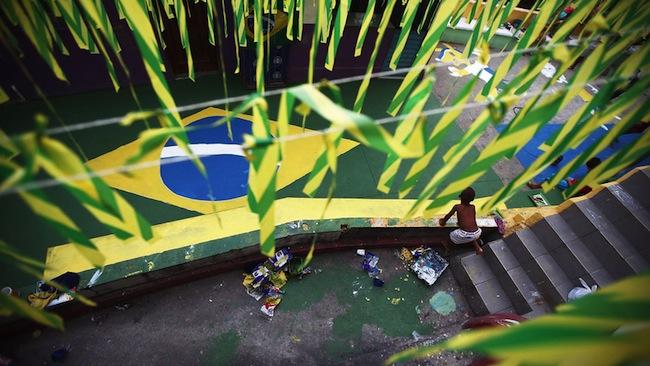 La Copa del Mundo se convirtió en una amenaza para la imagen de paraíso tropical de Brasil