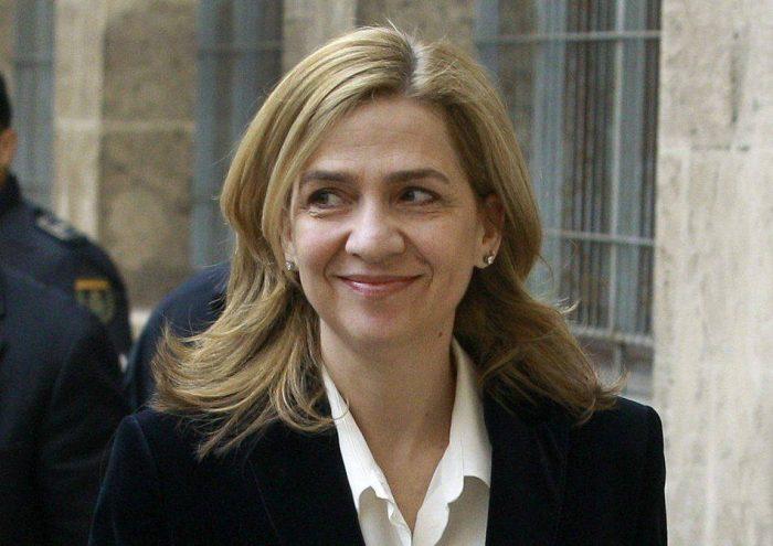 La infanta Cristina será imputada por fraude fiscal y lavado de dinero