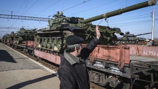 Rusia niega que concentre tropas junto a la frontera con Ucrania