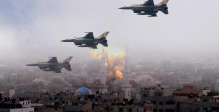 Aviación israelí bombardea con intensidad objetivos islamistas en Gaza
