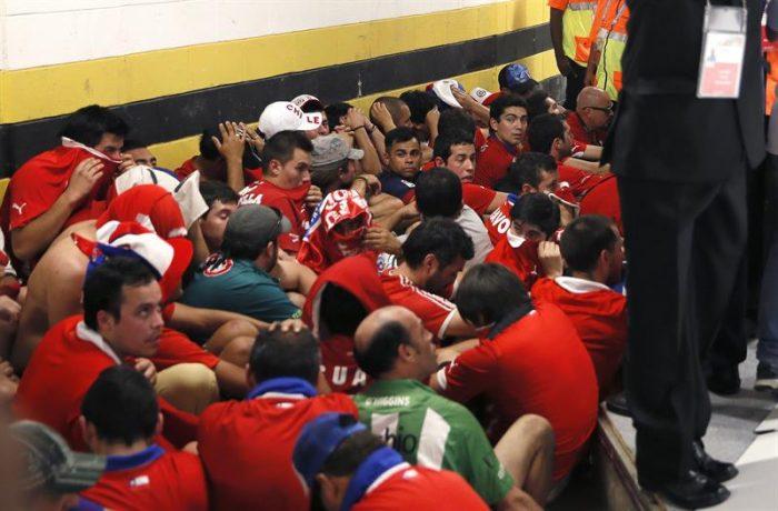 FIFA sanciona con multa a Chile y pone en la mira a la marea roja para el partido con Brasil
