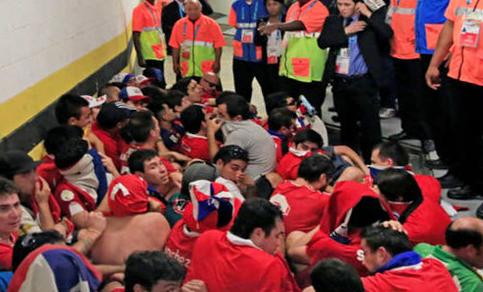 El prontuario de la 'Marea Roja' en Brasil 2014
