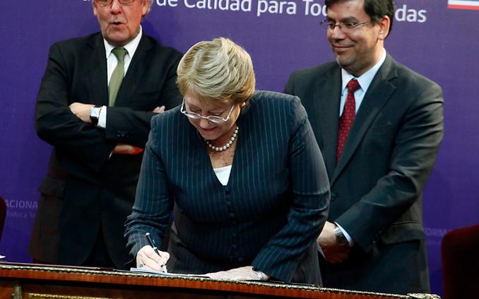 ¿Terminará Bachelet con la educación privada?