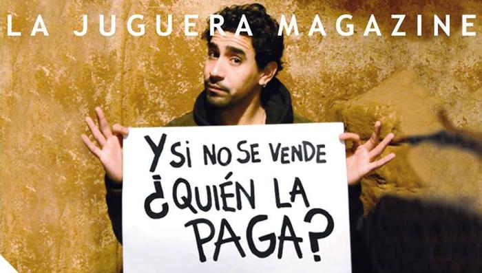 Campaña de La Juguera Magazine para recolectar fondos