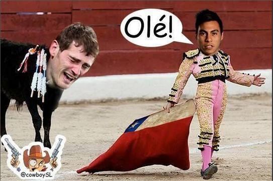 Los memes que se mofan de España tras su derrota 2-0 ante Chile