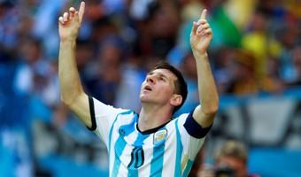 Argentina superó en la agonía a Irán y clasificó a octavos del Mundial 2014