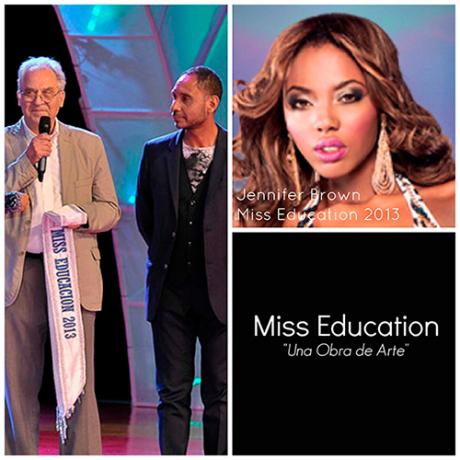 Artista Luis Luis Camnitzer en la primera elección de Miss Educación