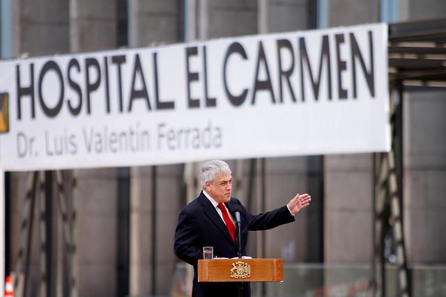 Contraloría determina que hospital de Maipú abrió de manera ilegal cuando lo inauguró Piñera