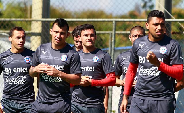 Sampaoli no da descanso a la 'Roja' y comienza los trabajos con miras al duelo ante Brasil