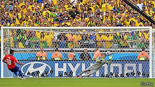 El fallido penal del chileno Gonzalo Jara contra Brasil generó más tuits que el Super Bowl de 2014 y la noche electoral de EE.UU. en 2012.