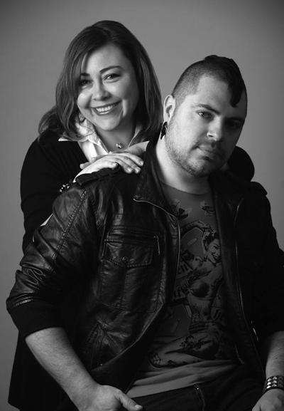 Alicia Bonilla y Guillermo Bonilla. Foto: Gentileza Mrwilliamdraw