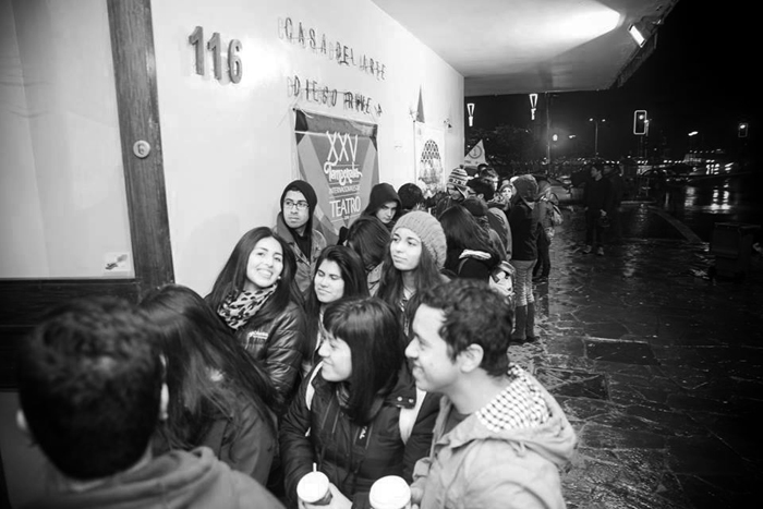 Día de la Inauguración de los Temporales internacionales de Teatro de Puerto Montt Foto: Rafael Arenas