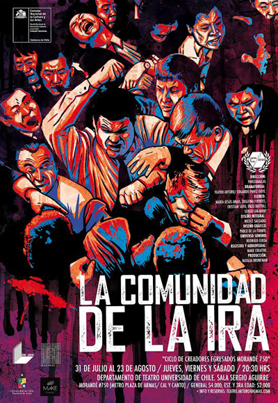 "Obra ""La Comunidad de la ira"" del ""Ciclo de creadores egresados Morandé 750"""