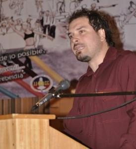 Oscar Aroca, profesor de Educación Física, será en asesor del PC en el Mineduc.