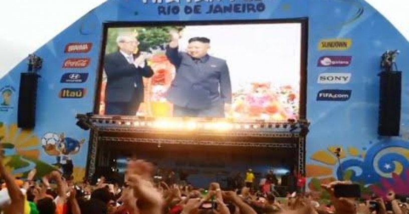 Falso video sobre Corea del Norte en la final de Brasil 2014 inunda la red