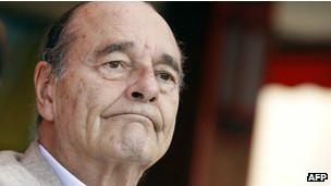 Su antecesor, Jacques Chirac, había sido condenado a prisión en suspenso.