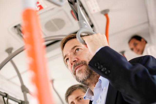 Ex ministro de transportes de Piñera: Transantiago a costo cero