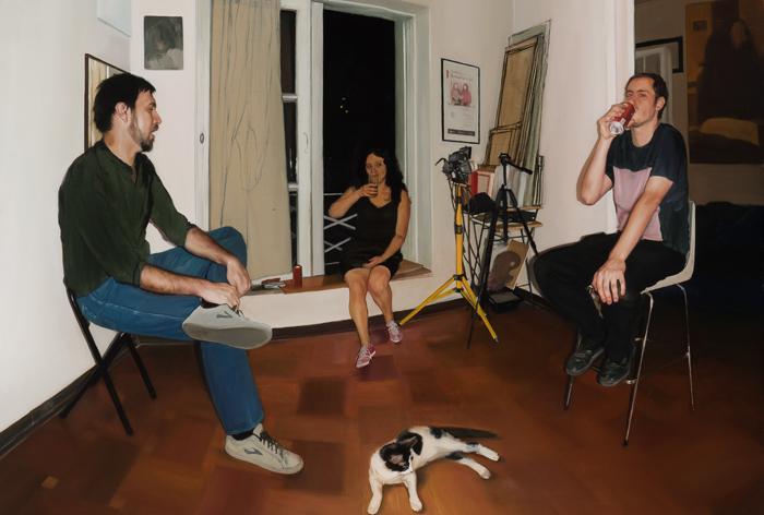 Exposición de las pinturas realistas de Ofelia Andrades en Sala Gasco